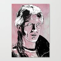 blade runner Canvas Prints featuring Blade Runner by Giuseppe Cristiano