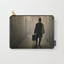 Victorian man with top hat Carry-All Pouch
