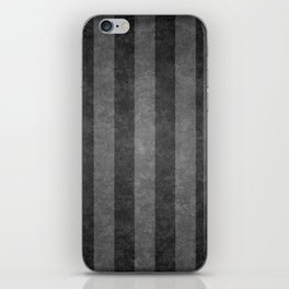 Grey Stripes iPhone Skin