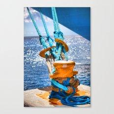 Vibrance On the Sea Canvas Print