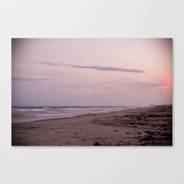 Sunset in the Gulf Canvas Print