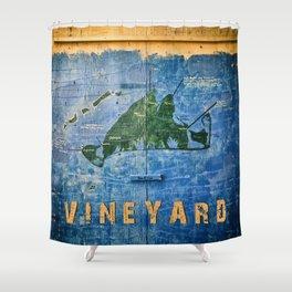 Vintage Vineyard Shower Curtain