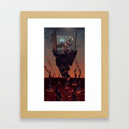 Pillar of Success Framed Art Print