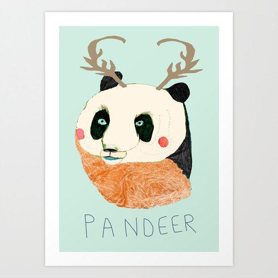 PANDEER :D Art Print