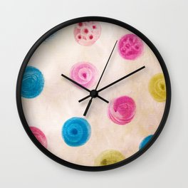 fingertips Wall Clock