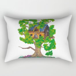 Treehouse III Rectangular Pillow