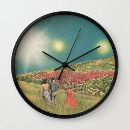 Towards the suns Wall Clock