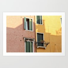 Color Windows Art Print