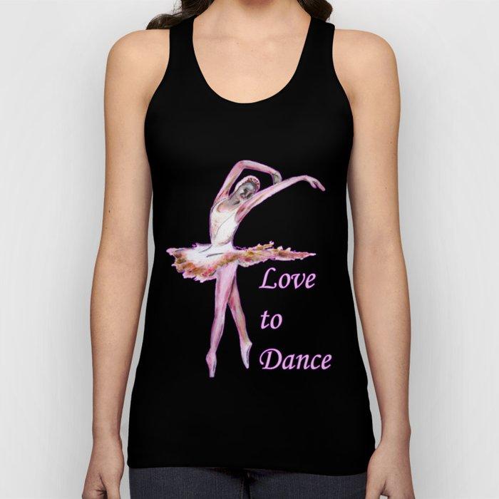 Love to Dance  Unisex Tank Top