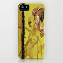 Persistence of Ego iPhone Case