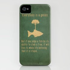 Einstein iPhone (4, 4s) Slim Case