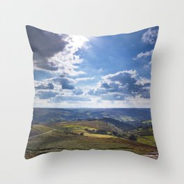 View onto Hope Valley Throw Pillow