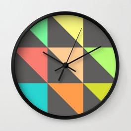 flavors Wall Clock