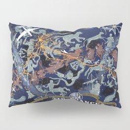 1939 Air France Celestial Poster Pillow Sham