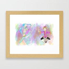 The nutcracker collection Framed Art Print