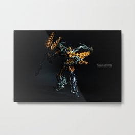 I AM GRIMLOCK!  Metal Print