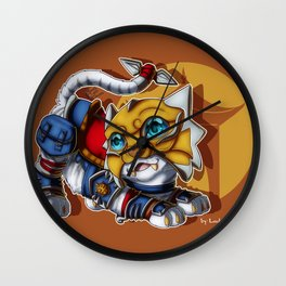 Shado-Pan Tiger Wall Clock