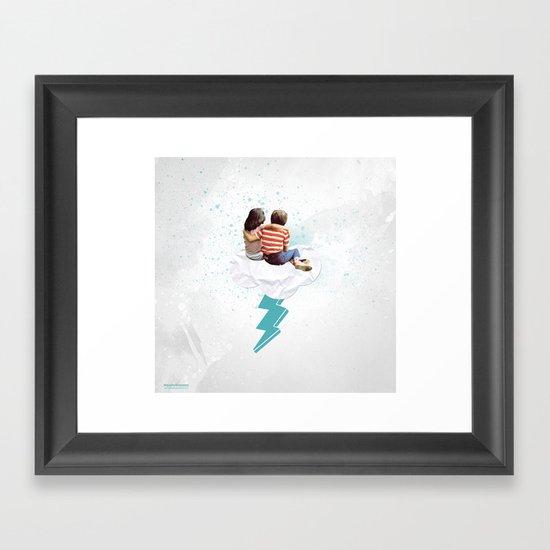 N.LOVE Framed Art Print
