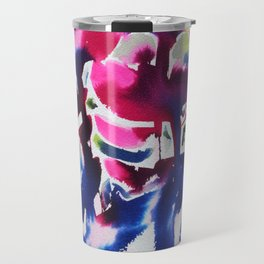 Botanika - Abstract Floral Watercolor Travel Mug