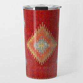 Çal  Antique Turkish Kilim Print Travel Mug