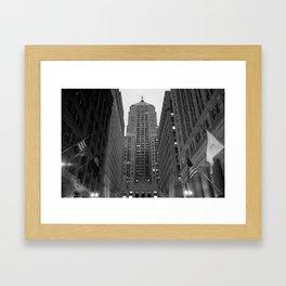 Chicago Board of Trade Framed Art Print