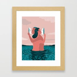 """""""Casual Sex May Be Improving America's Marriages"""" by Federica Bordoni for Nautilus Framed Art Print"""