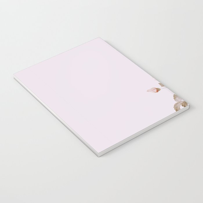 FRENCH PALE ROSES Notebook