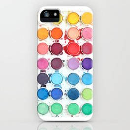Messy Watercolors iPhone Case