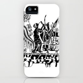 All that Jazz - 01 iPhone Case