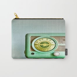 Turn Up The Radio Carry-All Pouch