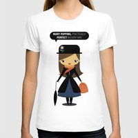 mary poppins T-shirts featuring Mary Poppins by oyoyoi