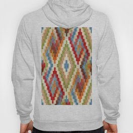 kilim rug pattern Hoody
