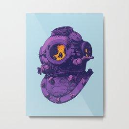 Dead diver Metal Print