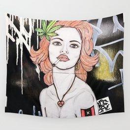 Amsterdam Girl Wall Tapestry