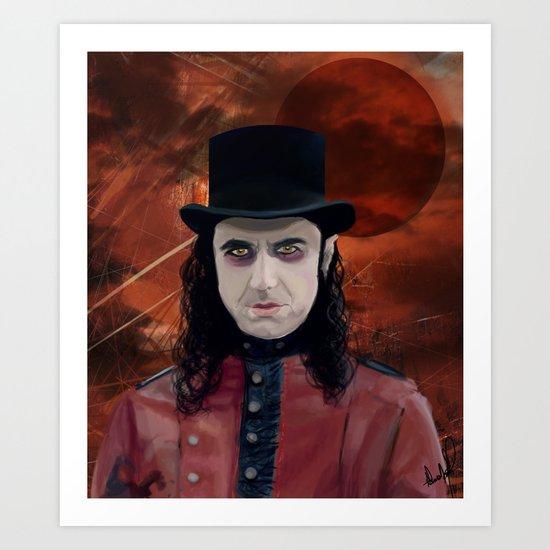 Fernando Moonspell Art Print