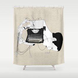 Olivetti Shower Curtain