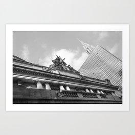 Grand Central NY Art Print