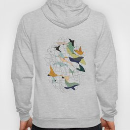 Chained birds Hoody