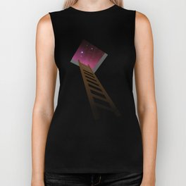 Escape to heaven - pink Biker Tank