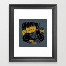 CB750 Framed Art Print