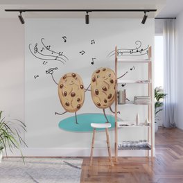 Cookies funny biscuits cute Wall Mural