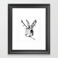 Sargeant Slaughtered Framed Art Print