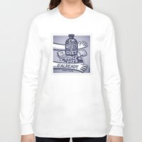 whiskey Long Sleeve T-shirts featuring Whiskey by hugraphic