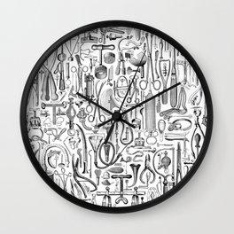 Medical Condition B&W Wall Clock