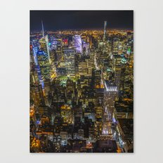 Colours of the City Canvas Print