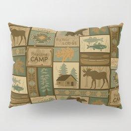 Big Bear Lodge Pillow Sham