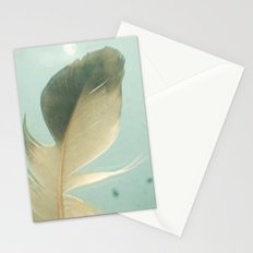 Grey Feather Stationery Cards