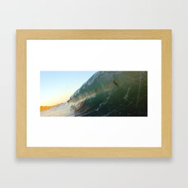 Straighter Lines Framed Art Print