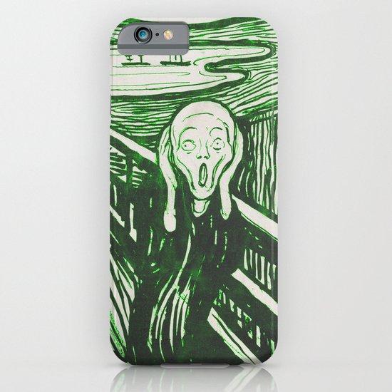 The Scream's Haze (green) iPhone & iPod Case