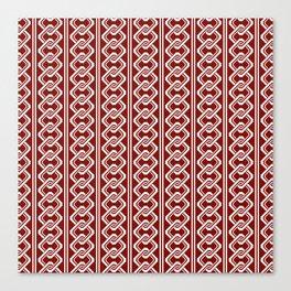 """""""Komochiyoshiwara"""" Japanese traditional pattern Canvas Print"""